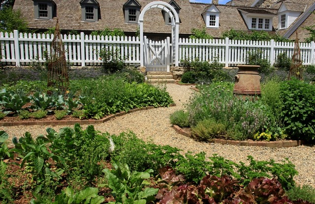 Vegetable & Herb Garden - Traditional - Landscape - new york - by Statile & Todd