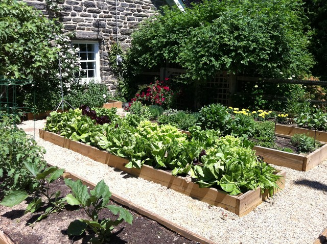 Vegetable garden for Raised veggie garden designs