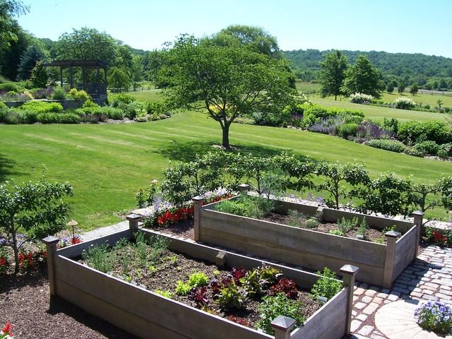 Vegetable Gardens Classique Jardin Philadelphie