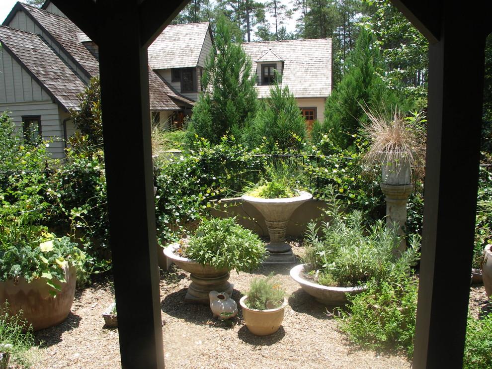 Vegetable Gardens, Herb Gardens - Traditional - Landscape ...