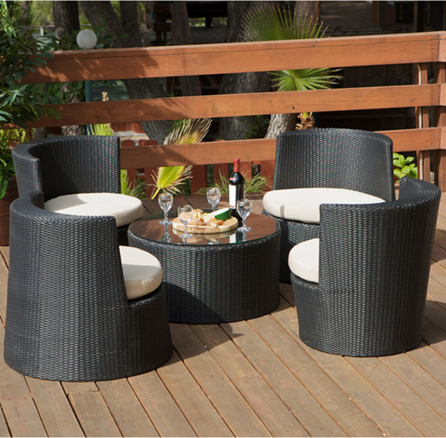 Veranda Outdoor Seating Set Modern Landscape Los Angeles