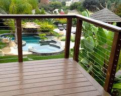Veranda tropical-landscape