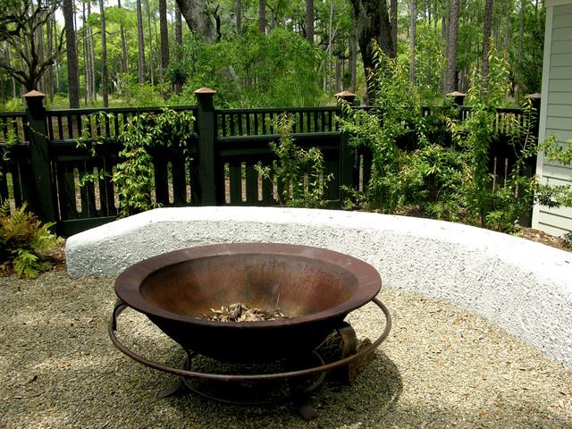 Verdant's Garden Features traditional-patio