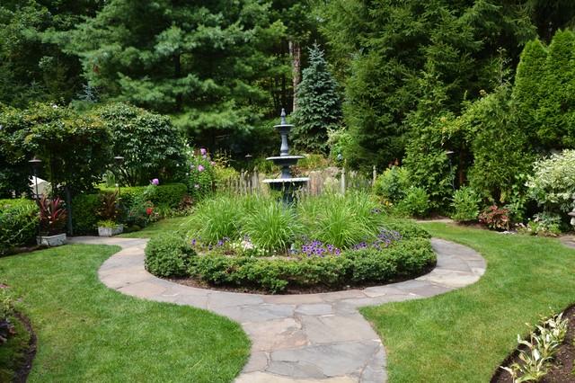 Vibrant Garden Backyard Traditional Landscape New