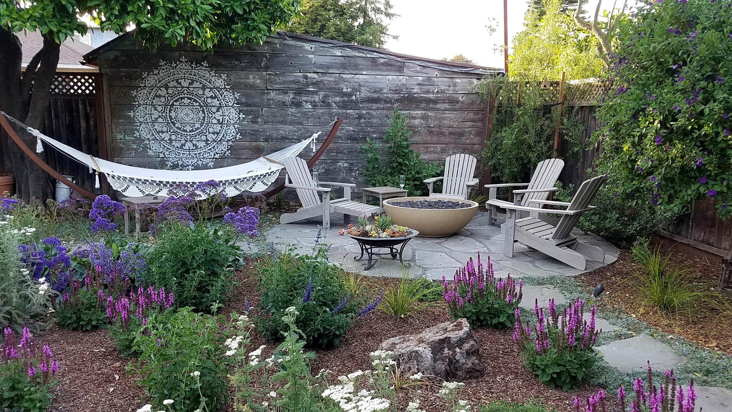 Victorian Boho Cottage Garden