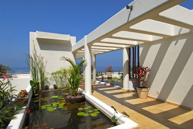 Villa balboa contemporary landscape mexico city by for Villa landscape design