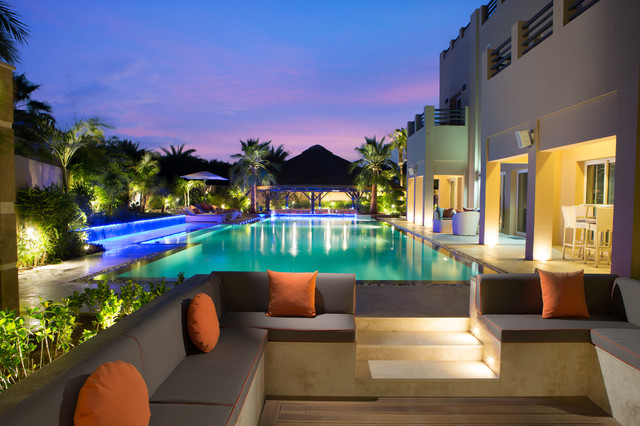 Villa hattan arabian ranches dubai for Garden pool dubai