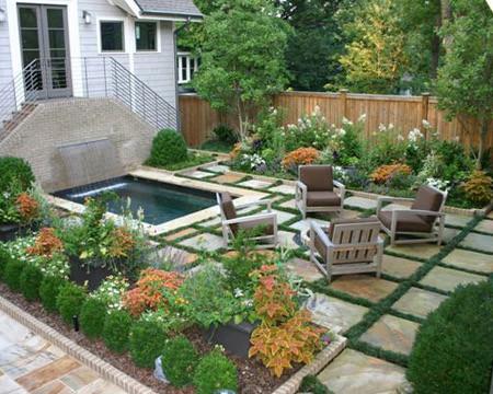 Virginia Highlands Bungalow Contemporary Garden