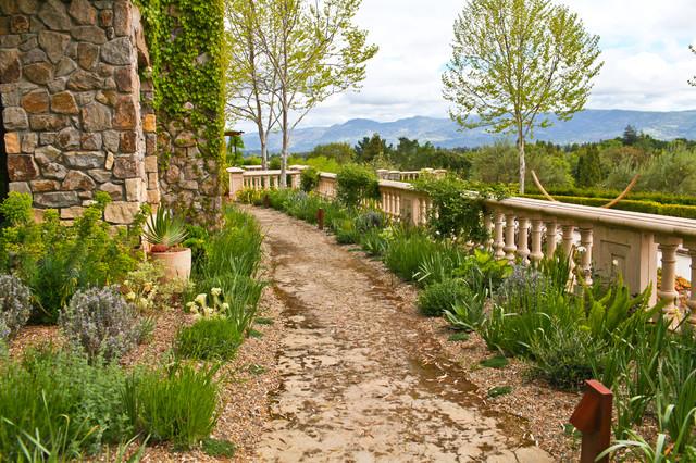 Walkways and paths mediterranean-landscape