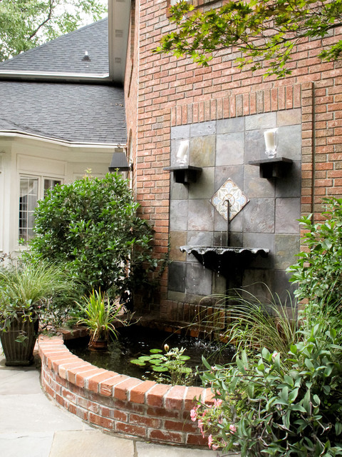 Wall Fountain Traditional Garden Other By The Collins Group Jdp Design Houzz Uk