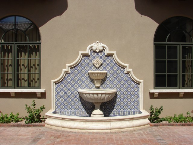 Wall fountains for Spanish style fountains for sale