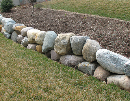 Walls and Driveways traditional-landscape