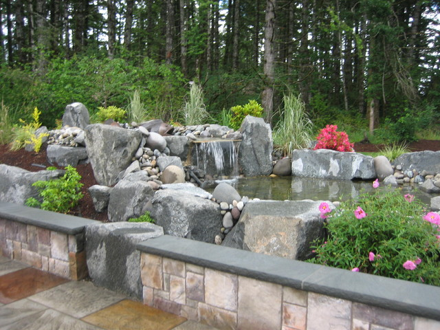 Walls traditional-landscape