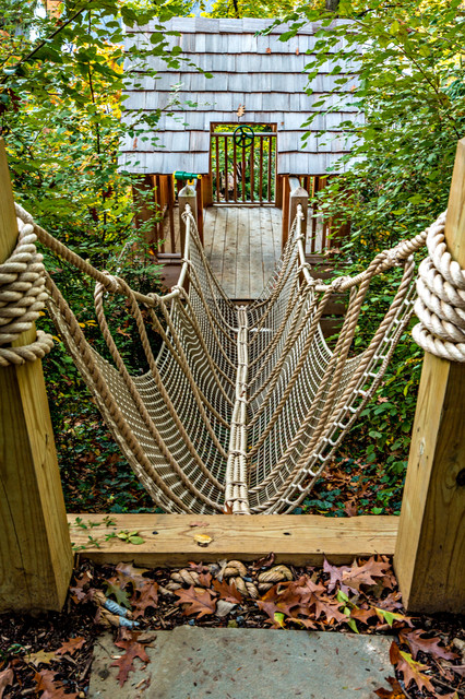Washington Dc Landscape And Backyard Play Project Rustic