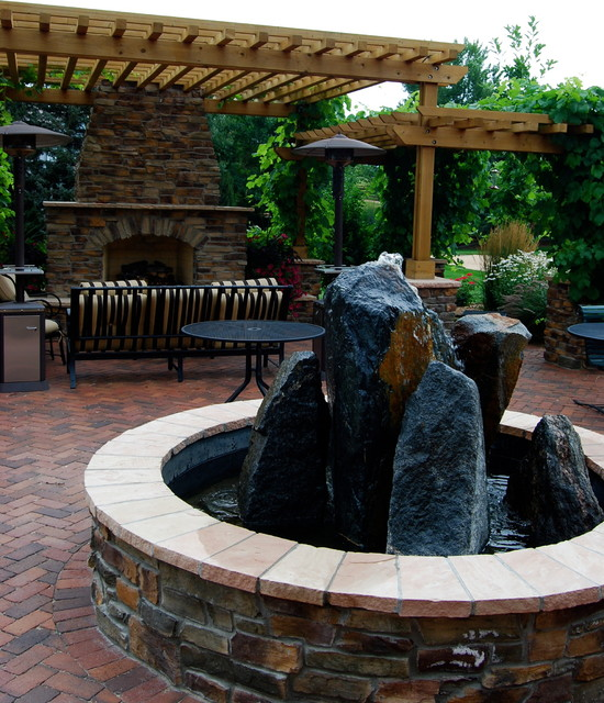 Water Elements in the Landscape contemporary-patio