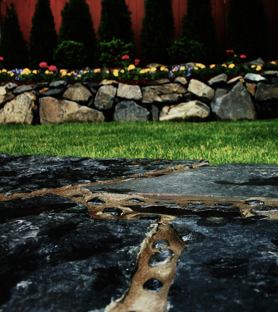 Landscaping Rocks Tacoma : Rock faux landscaping remodel contemporary landscape