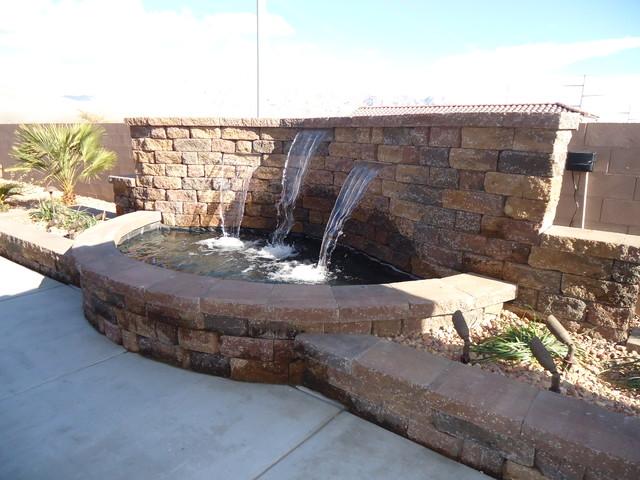 Water Feature Contemporary Garden