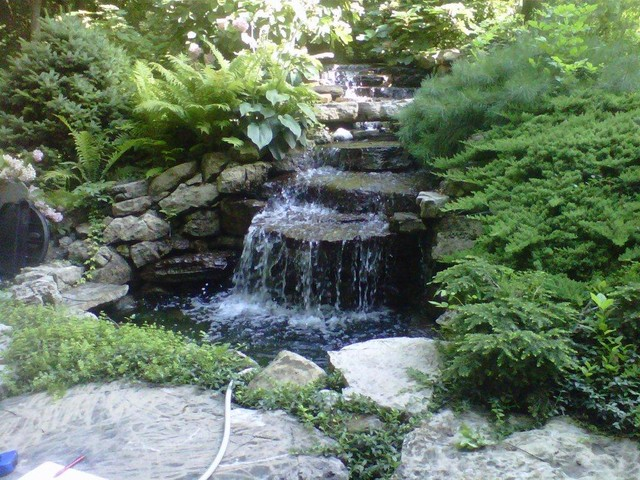 ... Garden Design with Water Feature Series Traditional Landscape  indianapolis by with Landscaping With Rocks Ideas from - Garden Design: Garden Design With Alder Landscaping, Water