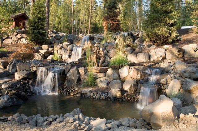 Water Features eclectic-landscape