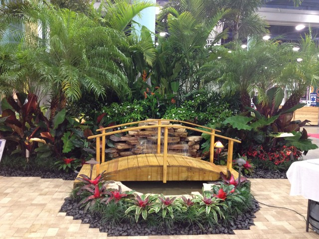 Water Features Tropical Landscape Miami By