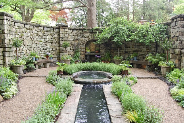 Water Features : Ponds, Waterfalls & Fountains traditional-landscape - Water Features : Ponds, Waterfalls & Fountains - Traditional