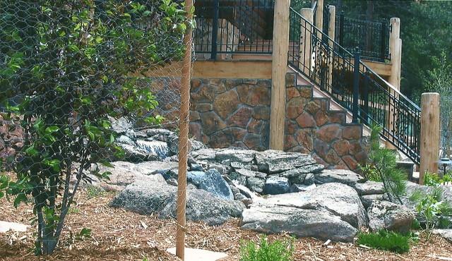 Water Features/Rock Work landscape