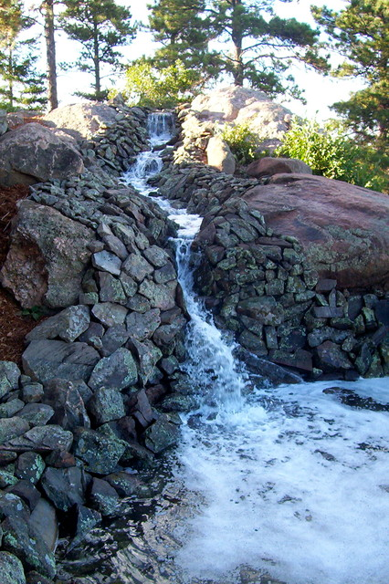 Water Features/Rock Work landscape