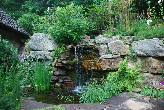 Water Features Rustic Landscape Other Metro By