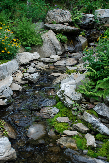 Water features rustic landscape other metro by for Landscaping courses adelaide
