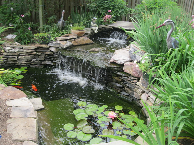 Water Features Water Falls Koi Ponds Asian Landscape