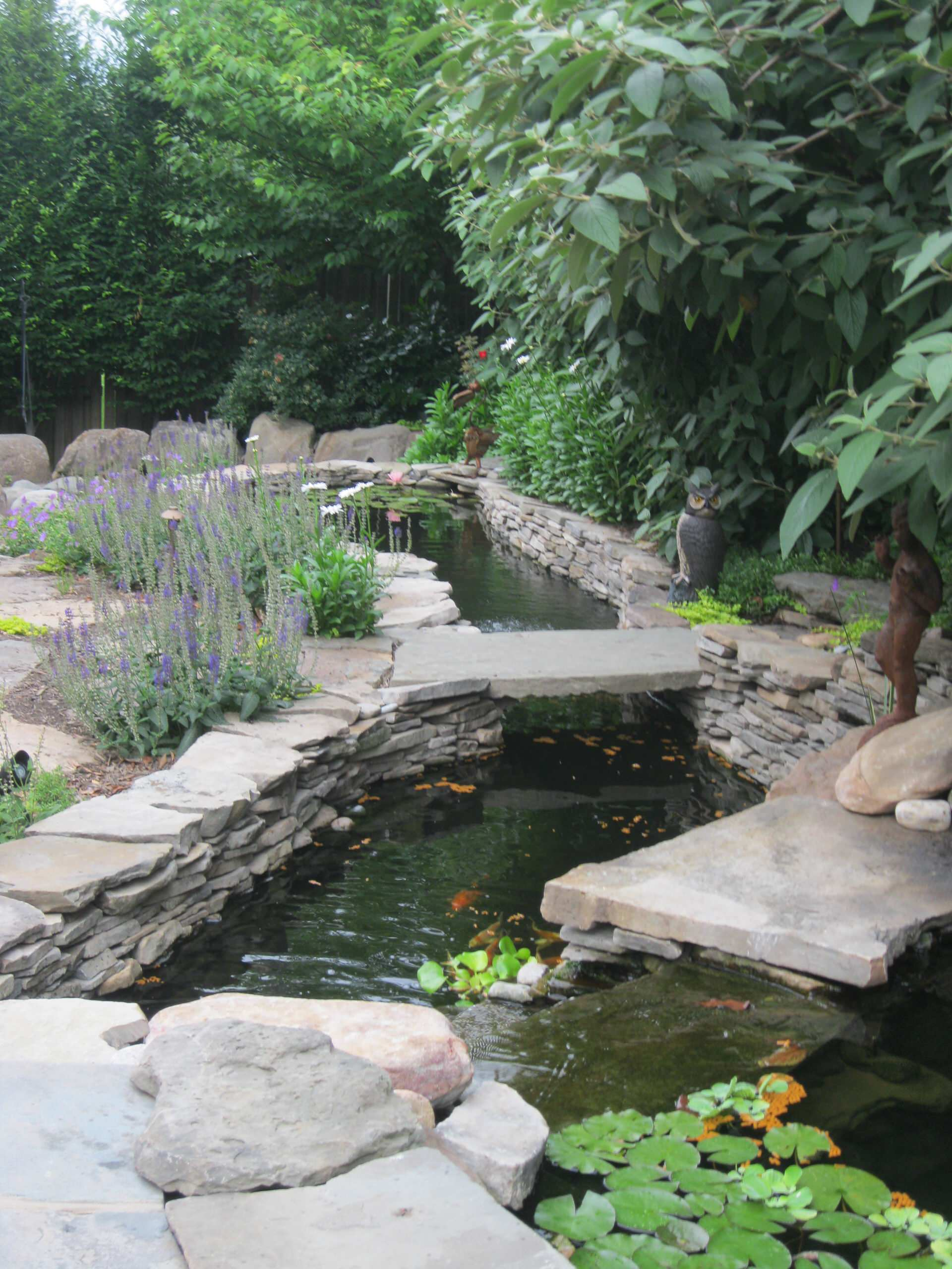 Water features/Water falls/Koi Ponds
