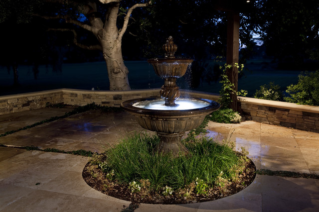 Water fountain landscape san francisco by claudio Water fountain landscaping ideas