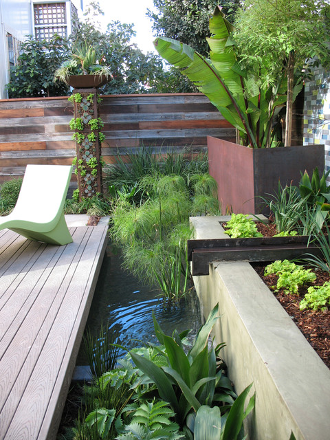 Water Pond contemporary-landscape