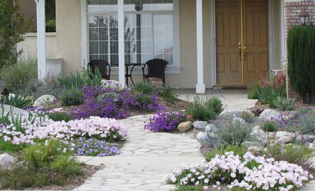 Water Wise Front Yard Garden Orange County By Jean