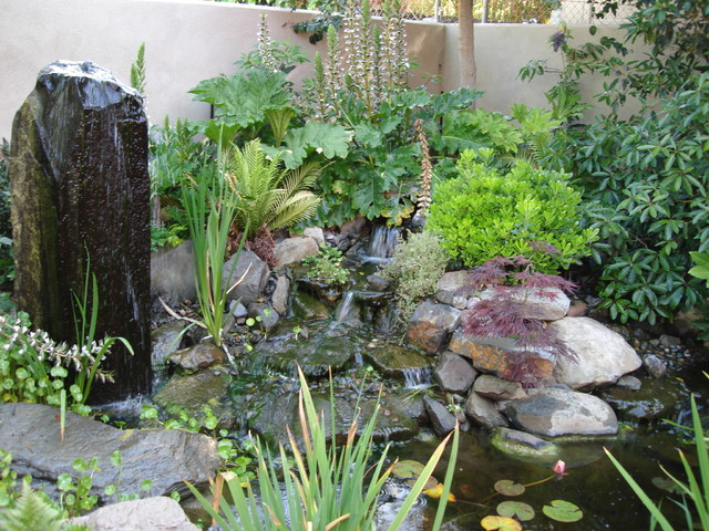 Waterfall eclectic-landscape