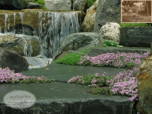 Waterfalls Garden Path Rock Garden Plantings