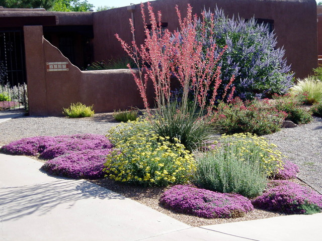 This is an example of a southwestern landscaping in Albuquerque. Email  Save. Waterwise Landscapes Incorporated - Waterwise Landscapes - Southwestern - Landscape - Albuquerque - By