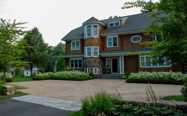 wayland home traditional exterior boston by a wayland kitchen remodel porter builders porter builders