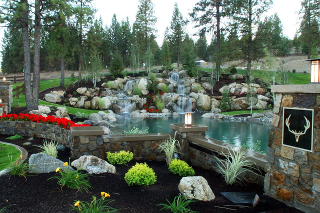 We add Fire, Water and Light! eclectic-landscape