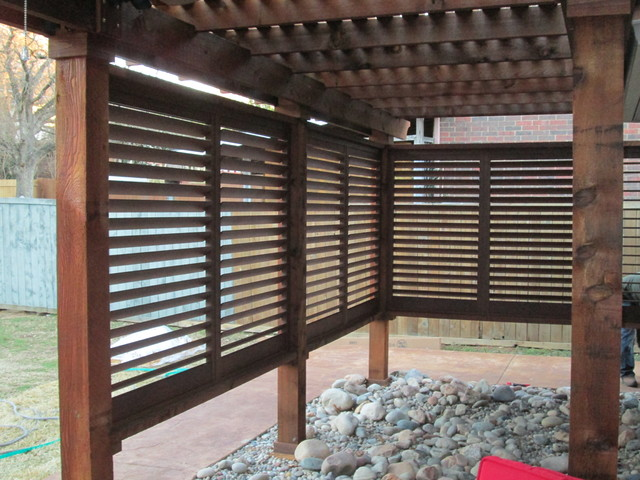 Weatherwell Exterior Shutters Rustic Landscape Dallas By Budget Blind