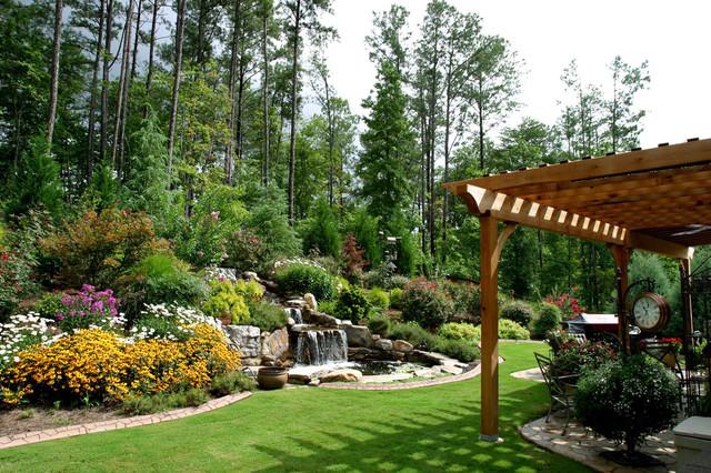 Weeg Backyard Traditional Landscape Atlanta By
