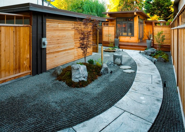 West Coast Zen asian-landscape - West Coast Zen - Asian - Landscape - Vancouver - By CCI Renovations