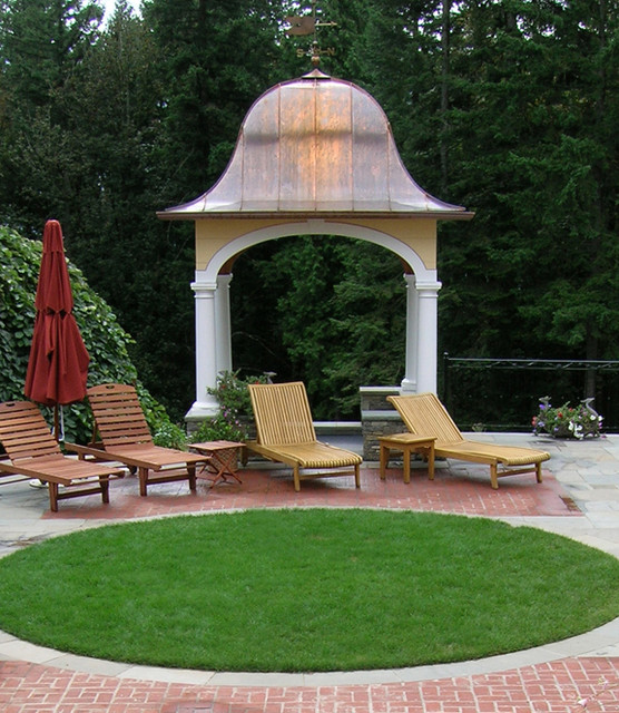 West Hills Hot Tub Gazebo traditional landscape