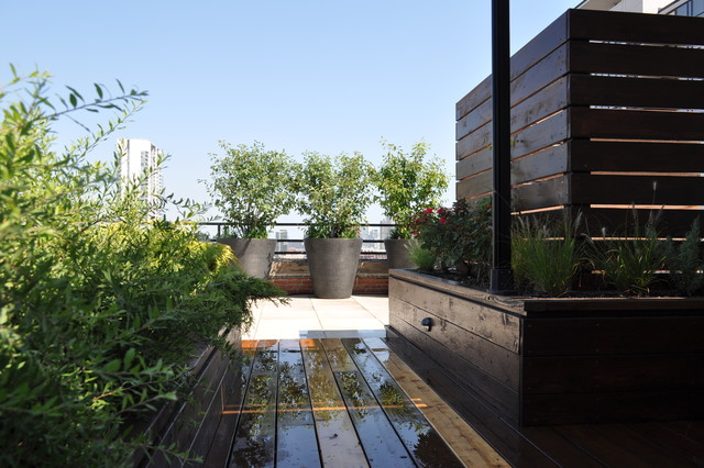 West Loop Residence contemporary-landscape