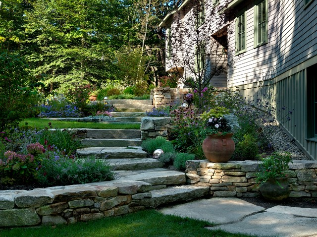 Landscaping Stones Portland Maine : Beach style landscape portland maine by wright ryan homes