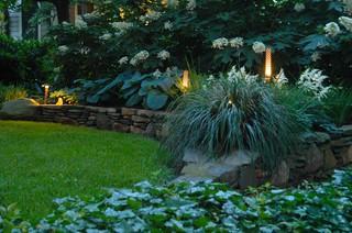White Garden craftsman-landscape