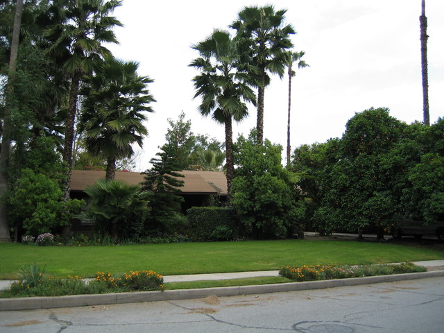 Whole House Remodel and Second Floor Addition in San Gabriel traditional-landscape