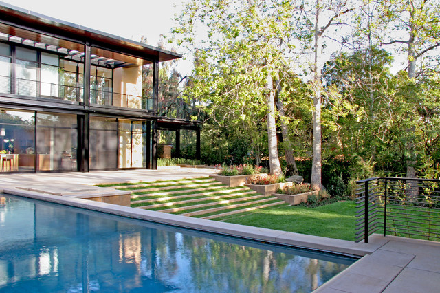 William Hefner Architecture Interiors & Landscape modern-landscape