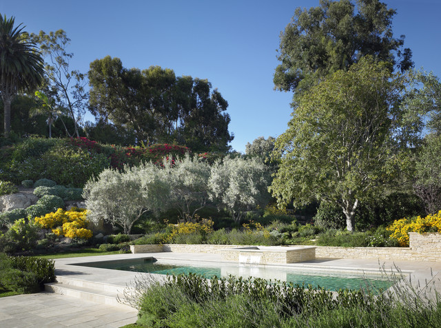 William Hefner Architecture Interiors & Landscape mediterranean landscape