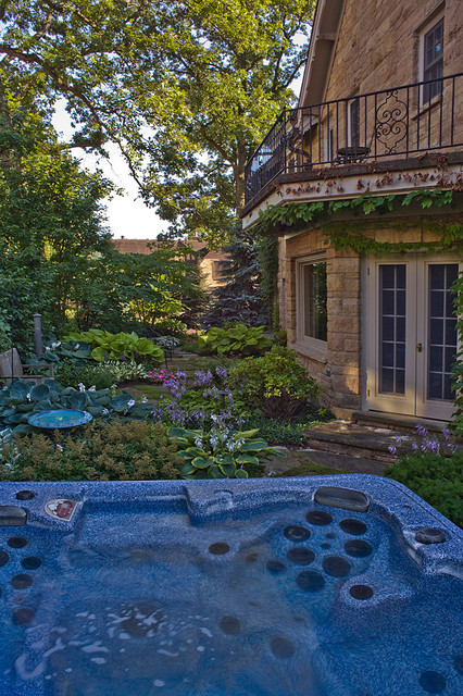 Wilmette, IL Residence (A) traditional-landscape
